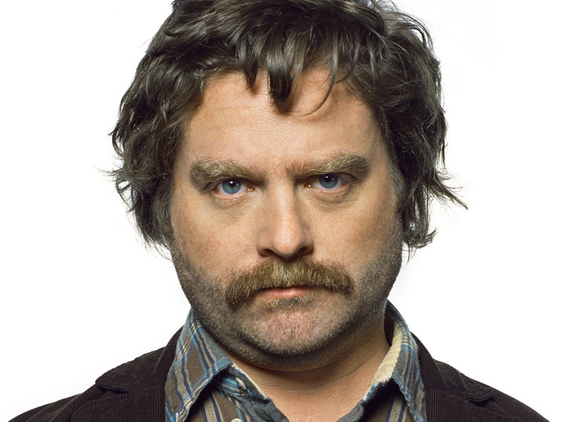 Zach Galifianakis Stand Up Comedian Comedy Central