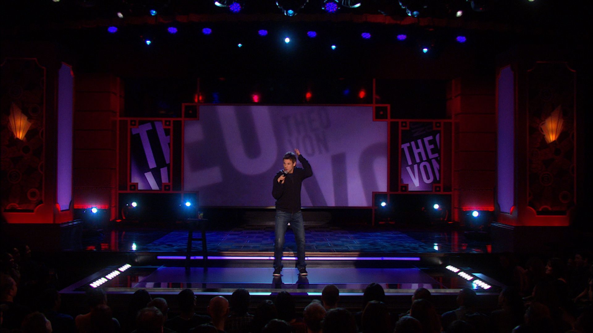 Stand up Comedy Stage Wallpaper Theo Von | Stand-up Comedian