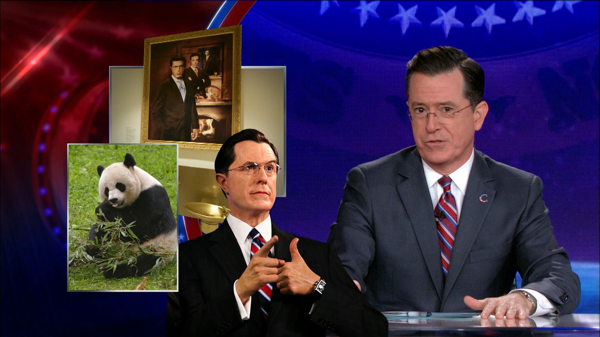 Colbert report episodes with obama