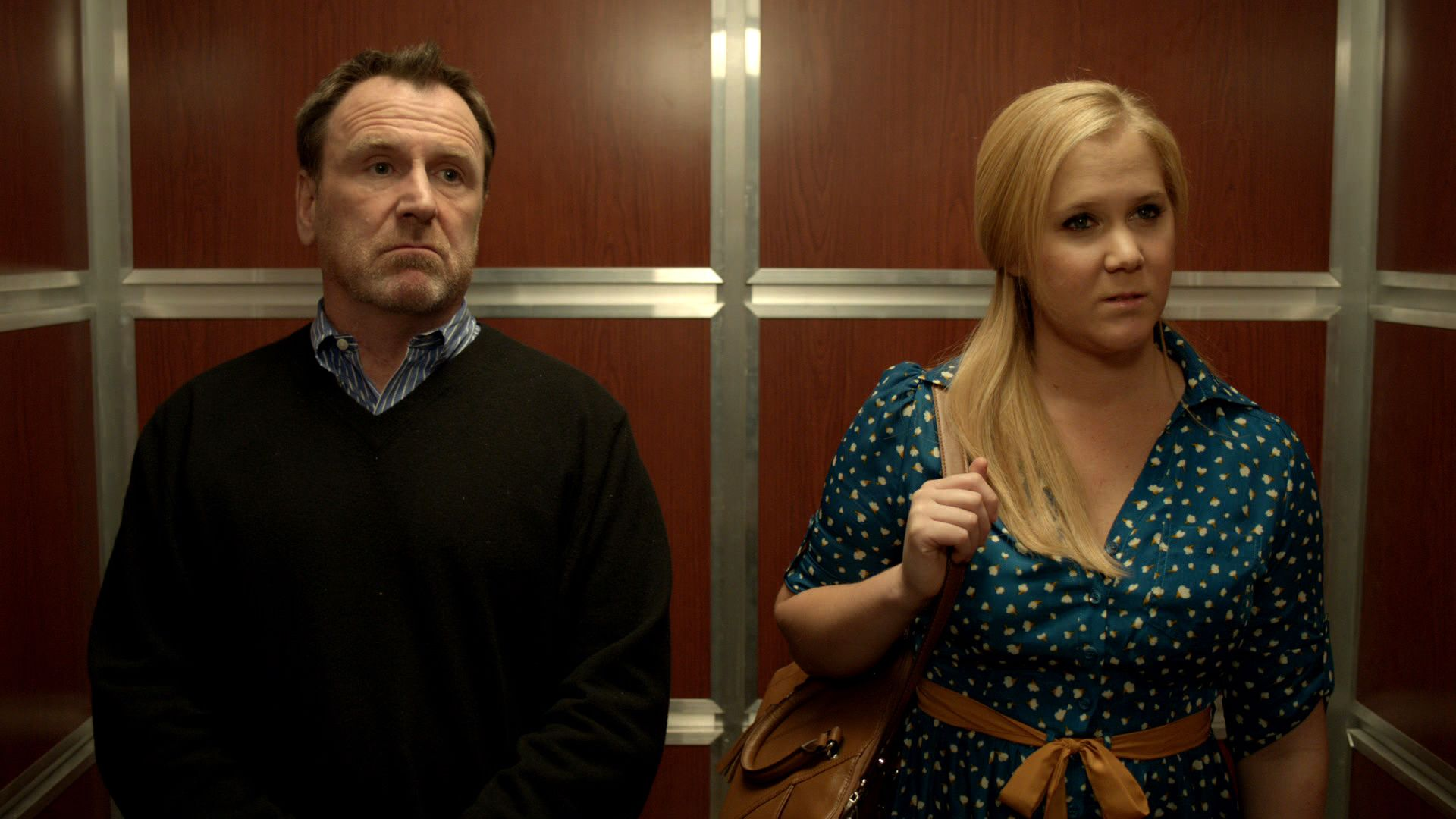 elevator conversation inside amy schumer video clip comedy central