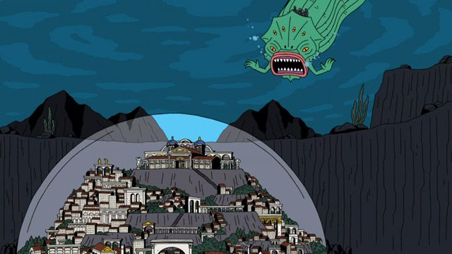 Ugly Americans: Raid on Atlantis