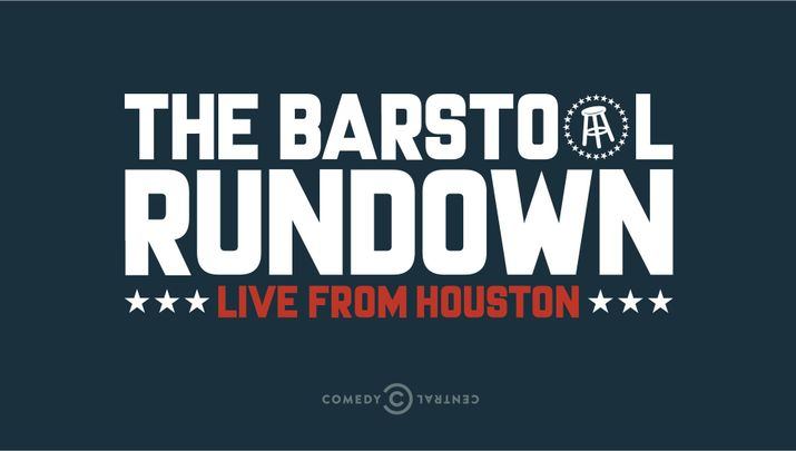 Logo for The Barstool Rundown: Live From Houston