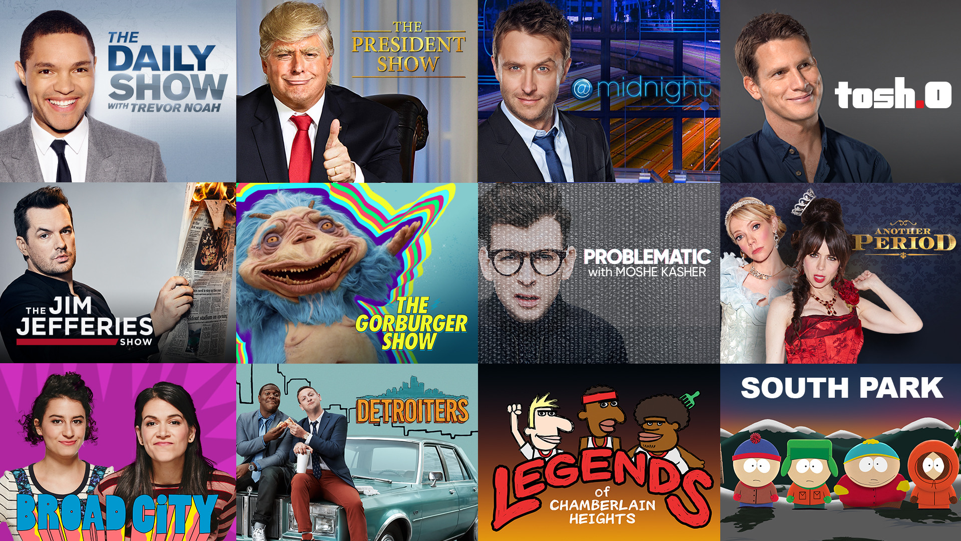 DOWNLOAD THE COMEDY CENTRAL APP