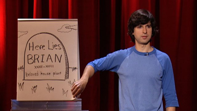 Demetri Martin Material Enhancers Comedy Central Presents