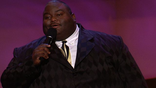 Big fat black comedian