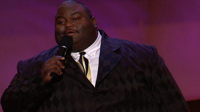 Big fat black comedian