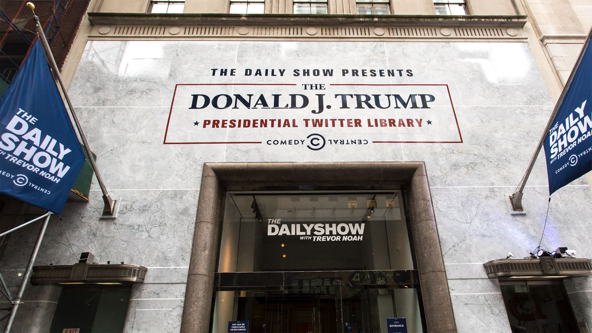 The Daily Show Presents The Donald J Trump Presidential Twitter Library Virtual Tour