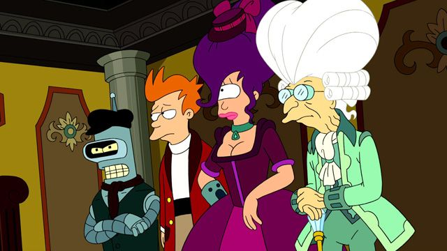 Futurama - Season 6, Ep. 20 - All the Presidents' Heads ...