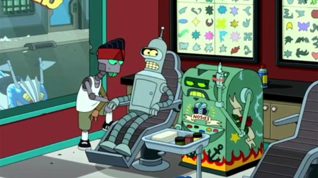 futurama season 7 episode 9 free will hunting