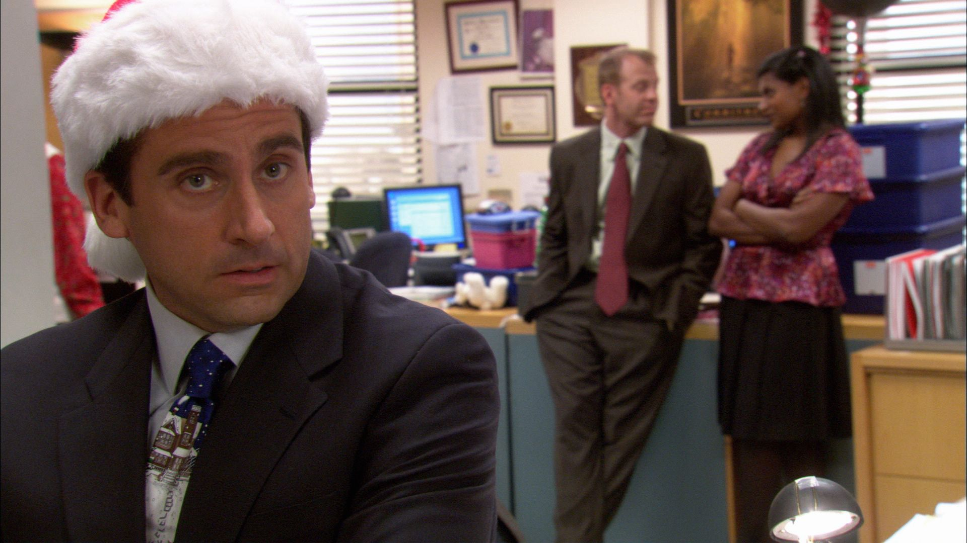 The Office - Season 2, Ep. 10 - Christmas Party - Full Episode ...