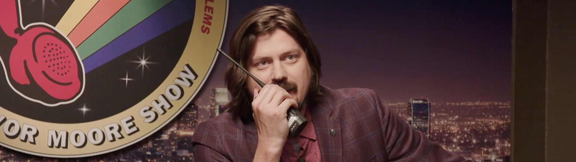 Trevor Moore Talk Show on FREECABLE TV