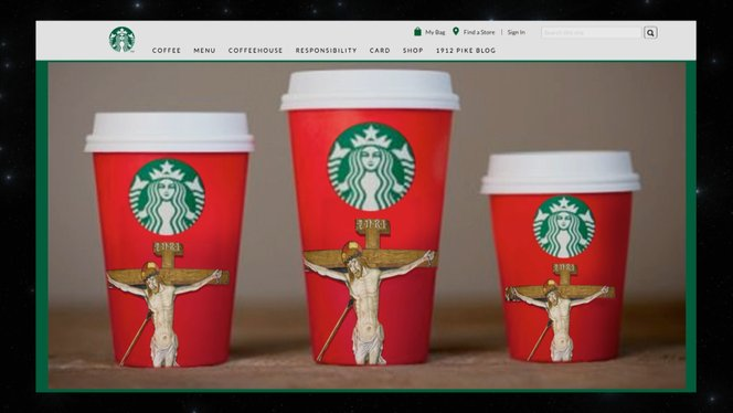 rapid refresh keep the christ in christmas starbucks cups