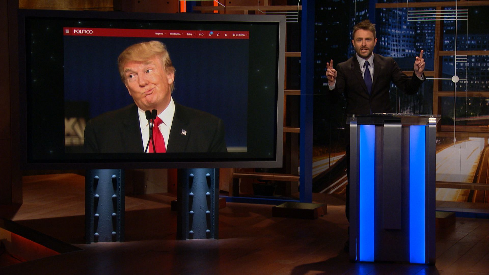 Extended - Dicknames - Donald Trump's Political Epithets - @midnight with Chris Hardwick (Video Clip)