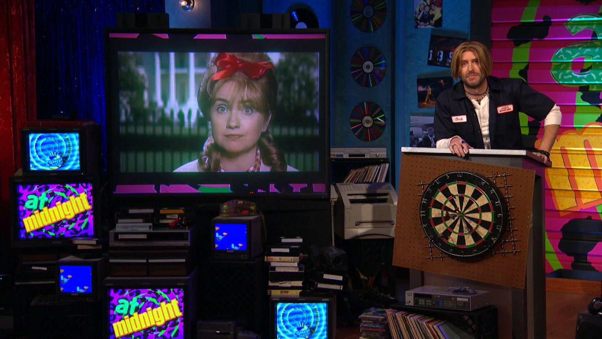 Trump Vs Hillary 90S Style - Midnight With Chris -9036