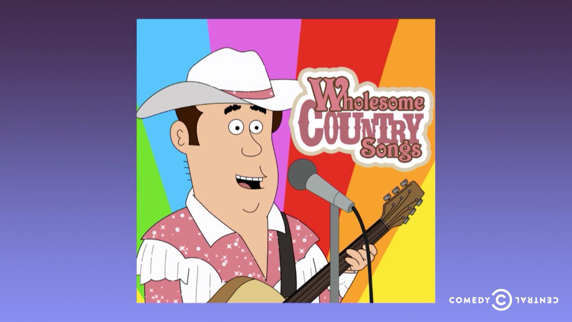 Comedy central boob song