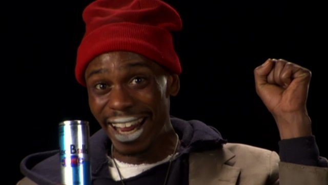 tyrone biggums s red balls energy drink chappelle s show video clip comedy central tyrone biggums s red balls energy drink