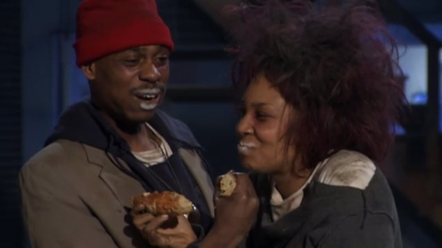tyrone biggums s fear factor uncensored chappelle s show video clip comedy central tyrone biggums s fear factor