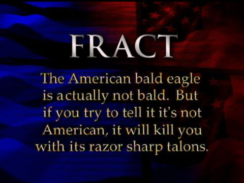 Fract - Bald Eagle - The Colbert Report (Video Clip) | Comedy Central