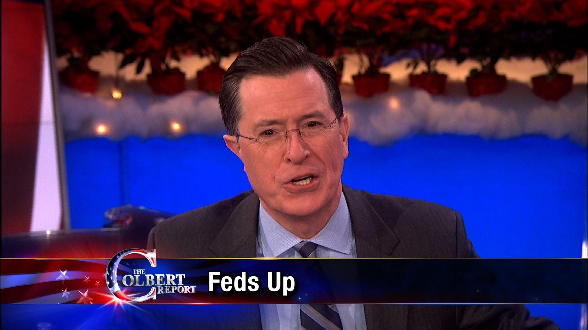 The Colbert Report December Keanu Reeves