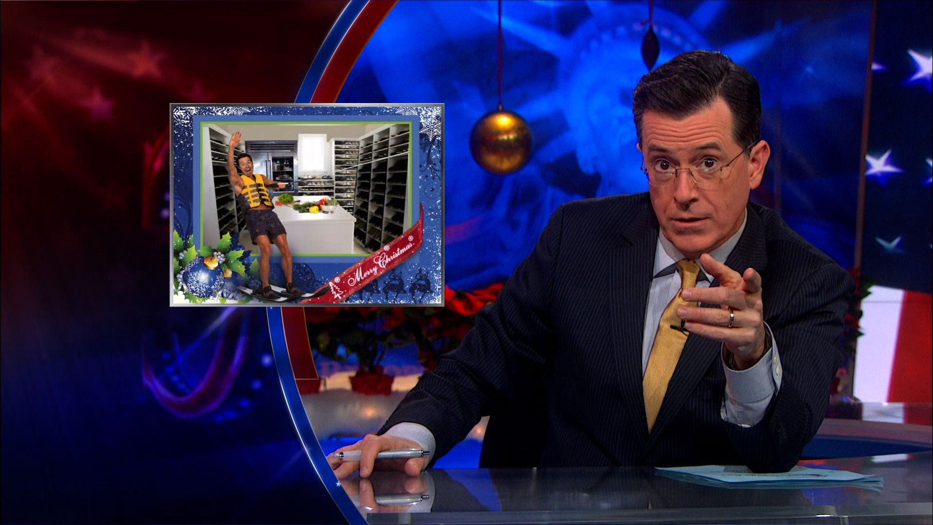 Jamie Dimon\'s Christmas Card - The Colbert Report (Video Clip ...