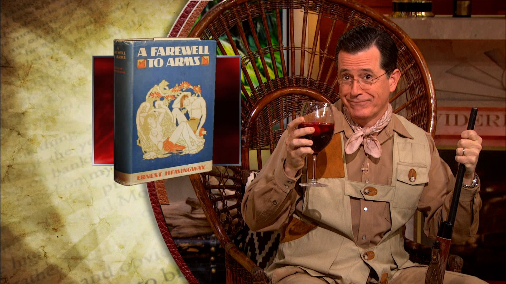 colbert report books Stephen colbert addressed amazon's battle with publisher hachette -- his own book publisher -- on the colbert report last night i'm not just mad at amazon,.