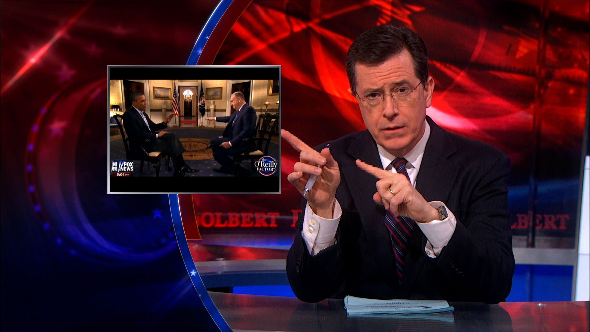 White House State Dinner - The Colbert Report (Video Clip ...