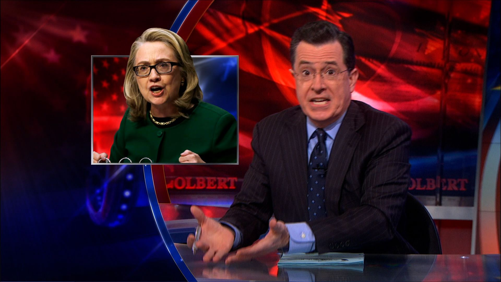 Fox News on Hillary Clinton\'s Age - The Colbert Report (Video Clip ...