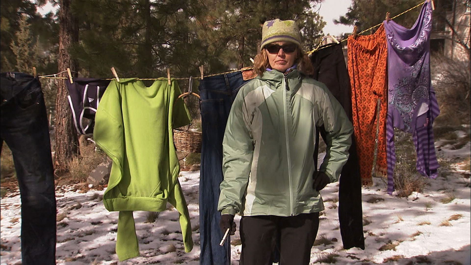 the enemy within backyard clothesline the colbert report