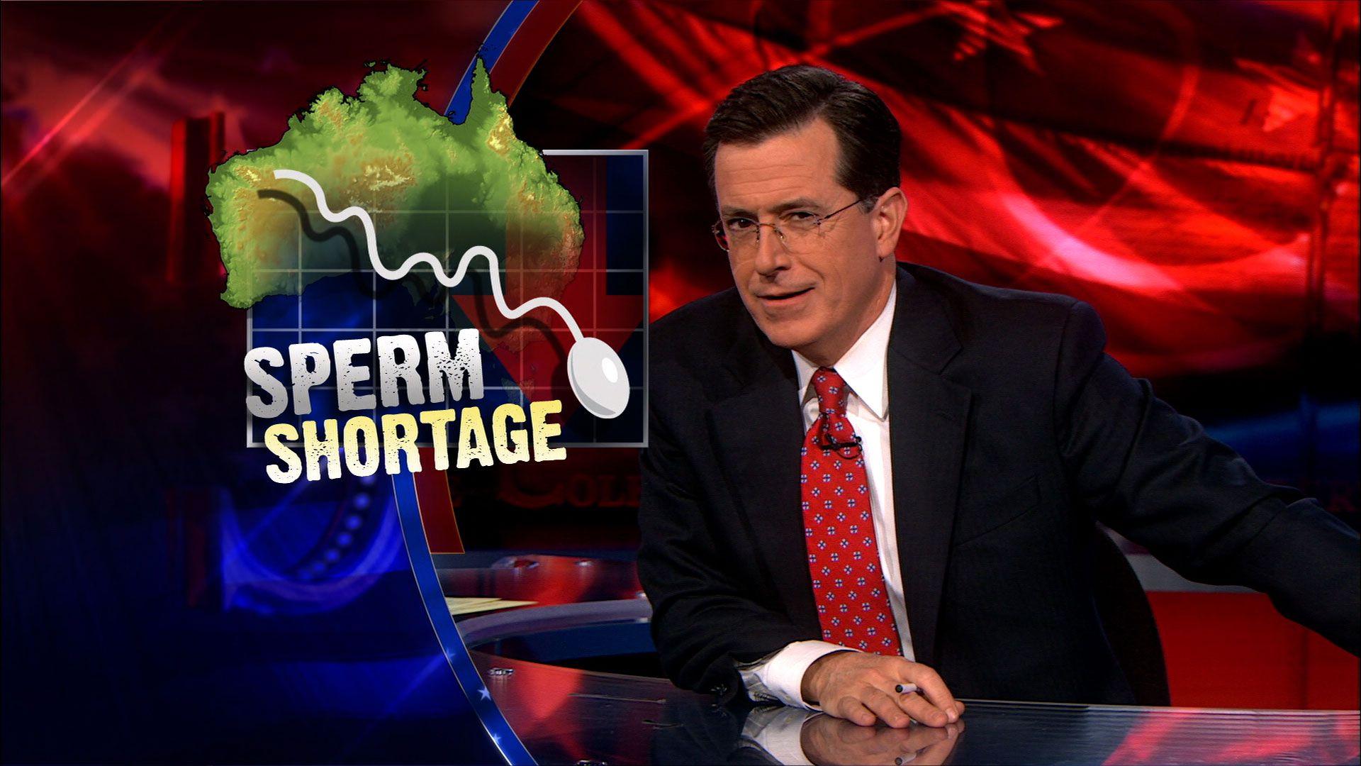 Australian sperm shortage