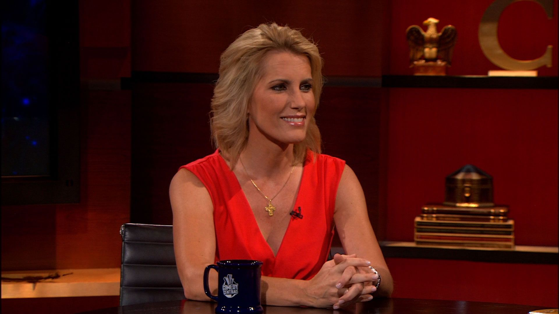 laura ingraham the colbert report video clip comedy
