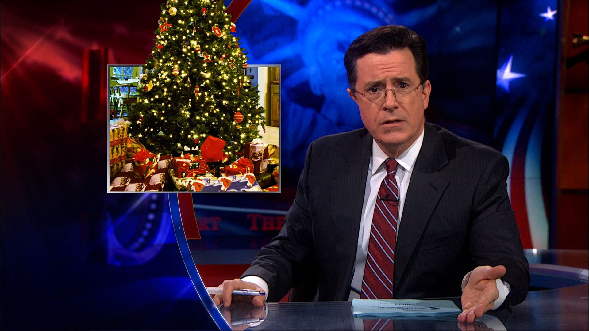 Rick Perry's Pro-Christmas Ad - The Colbert Report | Comedy Central