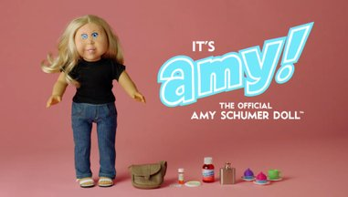 amy schumer doll
