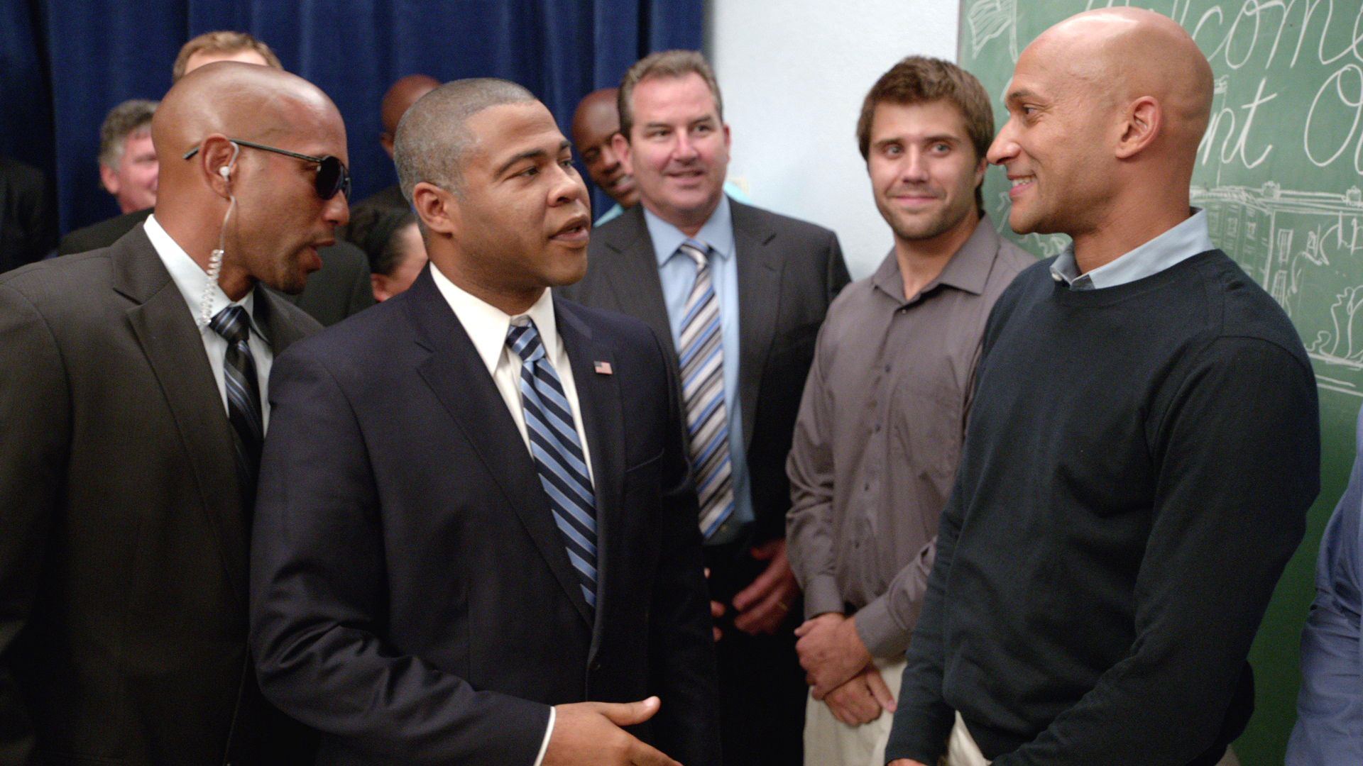 Obama Meet Greet Key And Peele Video Clip Comedy Central