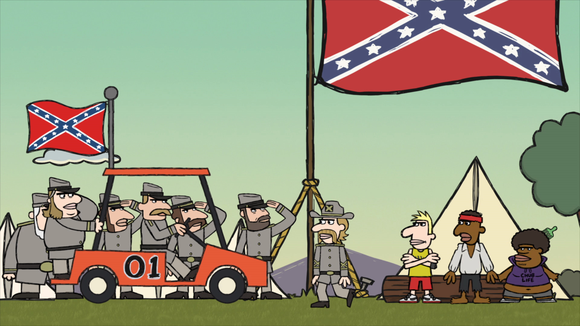 Confederate Flags of Our Fathers