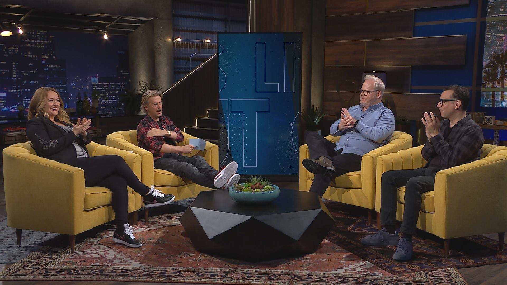 September 18, 2019 - Jim Gaffigan, Sarah Tiana, Fred Armisen & Sean Penn