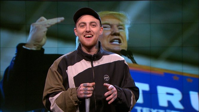 Mac miller unloads on donald trump the nightly show with larry mac miller unloads on donald trump the nightly show with larry wilmore video clip comedy central m4hsunfo