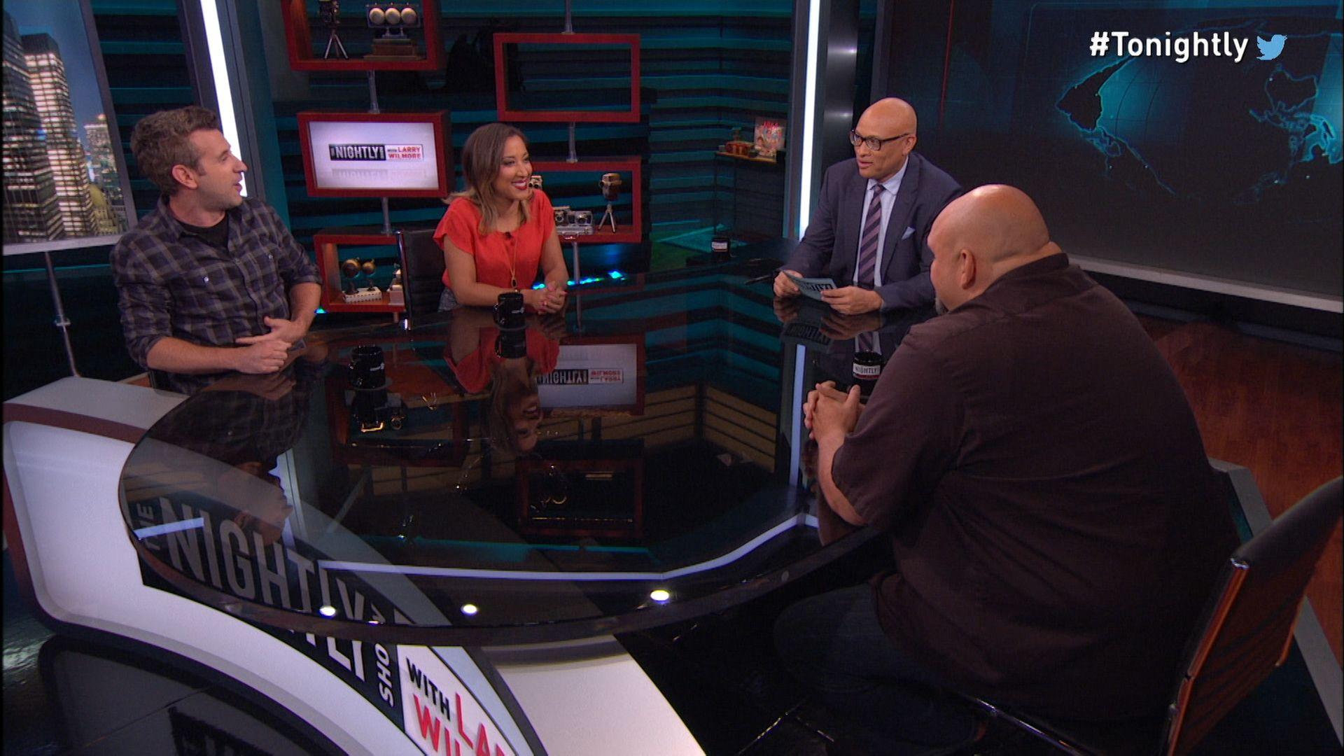 Panel - Melania Trump\'s Plagiarism Controversy - The Nightly Show ...