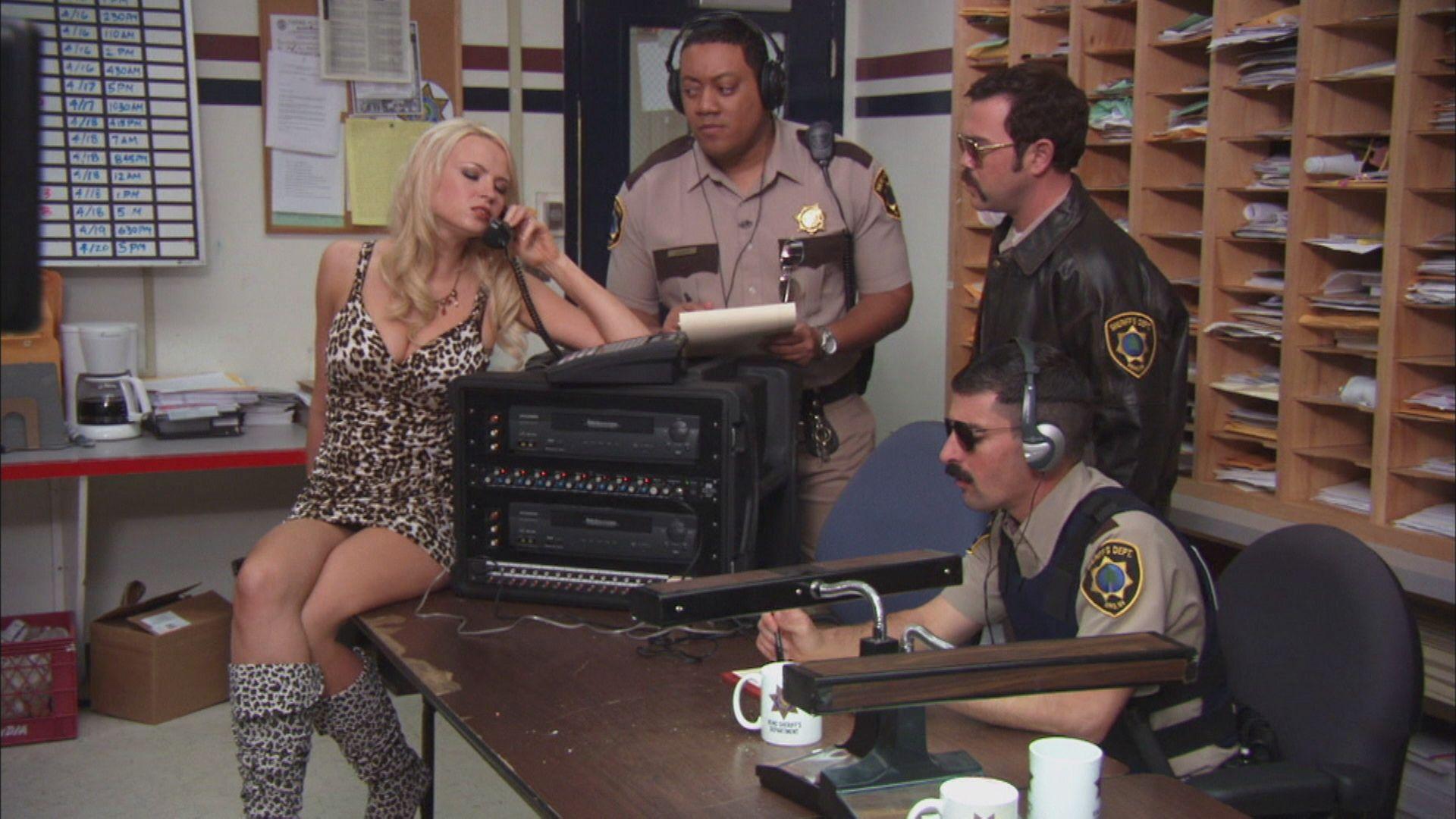 Russian Phone Sex - Reno 911 Video Clip  Comedy Central-5505