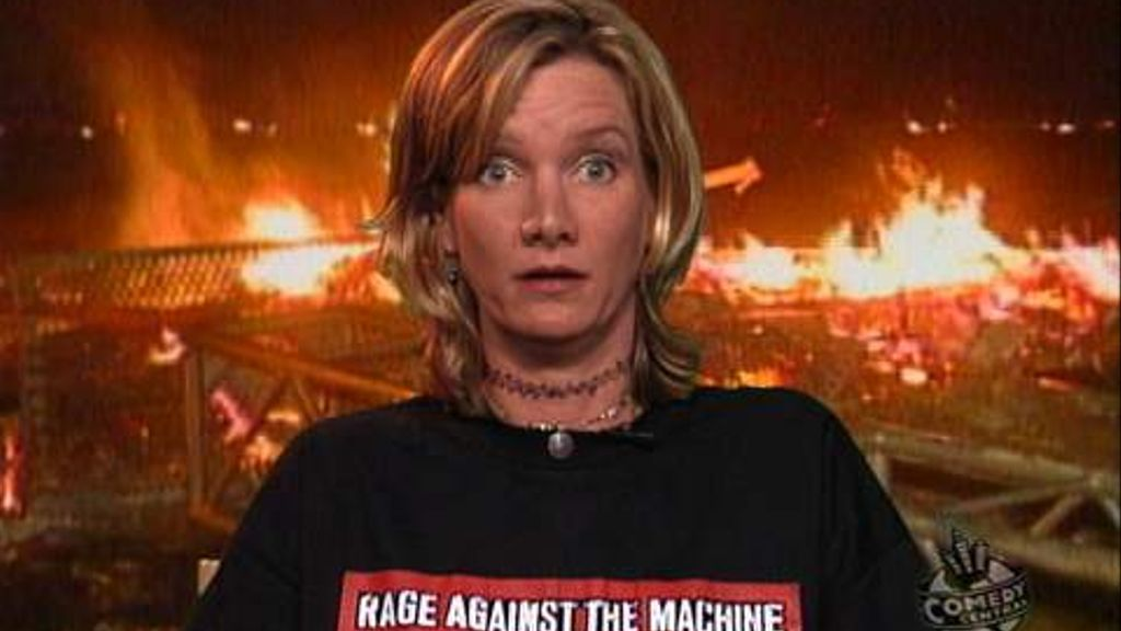 Woodstock '99 Fires - The Daily Show with Jon Stewart (Video