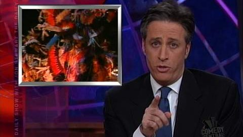 opening ceremony the daily show with jon stewart video clip comedy central