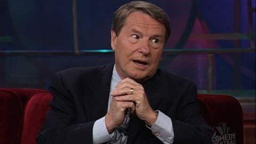 Jim Lehrer - The Daily Show with Jon Stewart (Video Clip) | Comedy ...