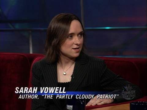 sarah vowell essays the partly cloudy patriot