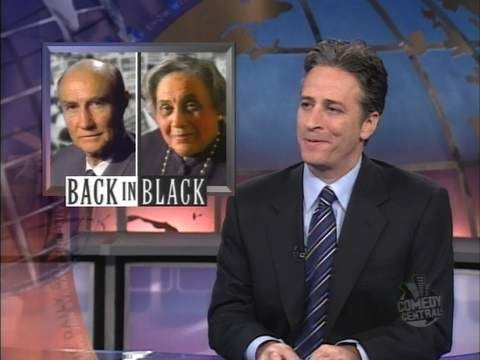 Back in Black - Senator Strom Thurmond - The Daily Show with Jon Stewart | Comedy Central
