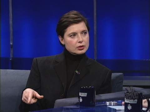 Isabella Rossellini - The Daily Show with Jon Stewart | Comedy Central