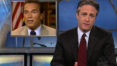 Arnold the first 539 days the daily show with jon stewart video arnold the first 539 days the daily show with jon stewart video clip comedy central malvernweather Gallery