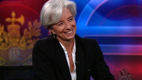 Christine Lagarde - The Daily Show with Jon Stewart (Video