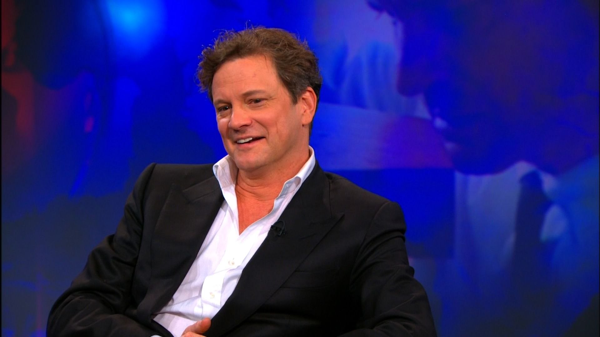 Colin Firth - The Daily Show with Jon Stewart   Comedy Central