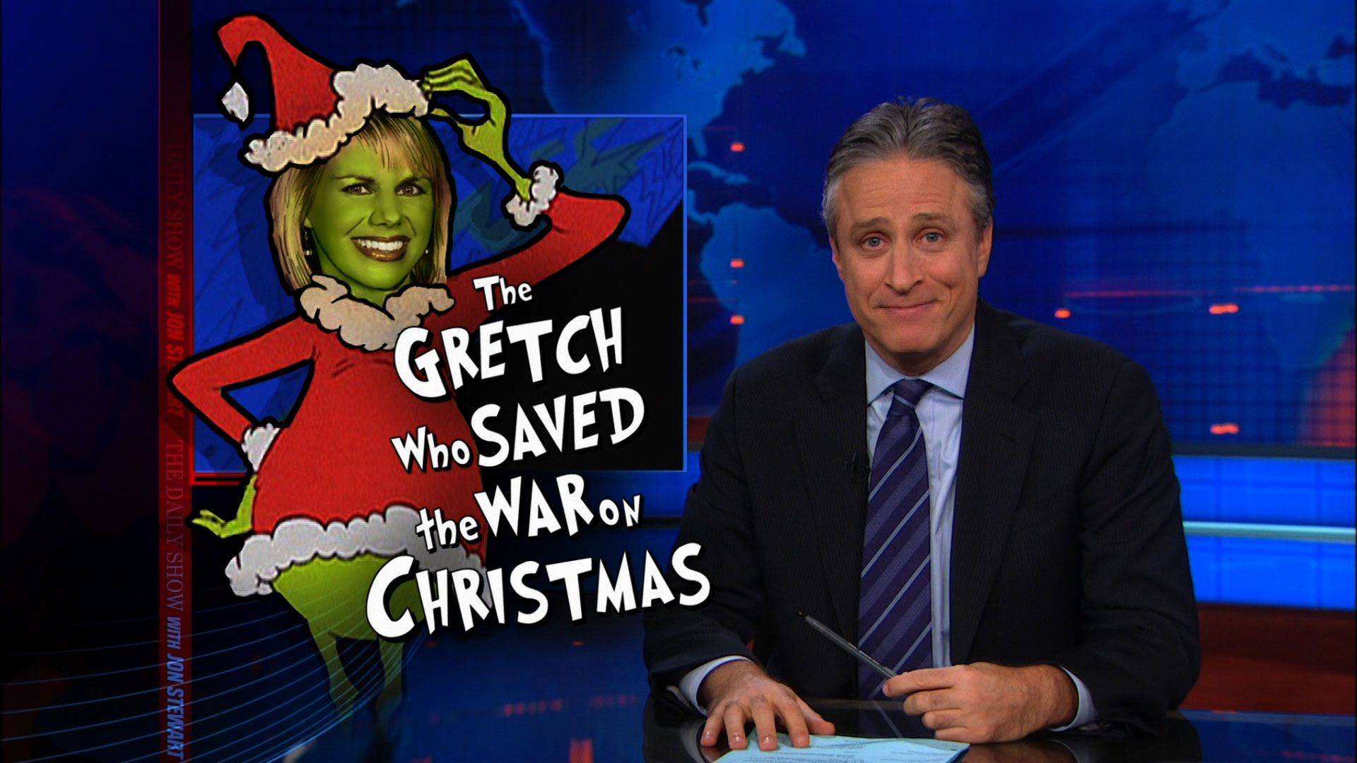 The Gretch Who Saved the War on Christmas - The Daily Show with Jon ...