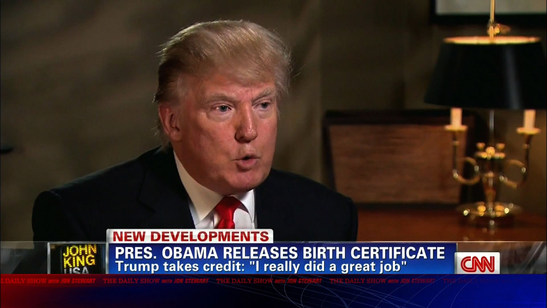 Moment Of Zen Trump Takes Credit For Birth Certificate The Daily