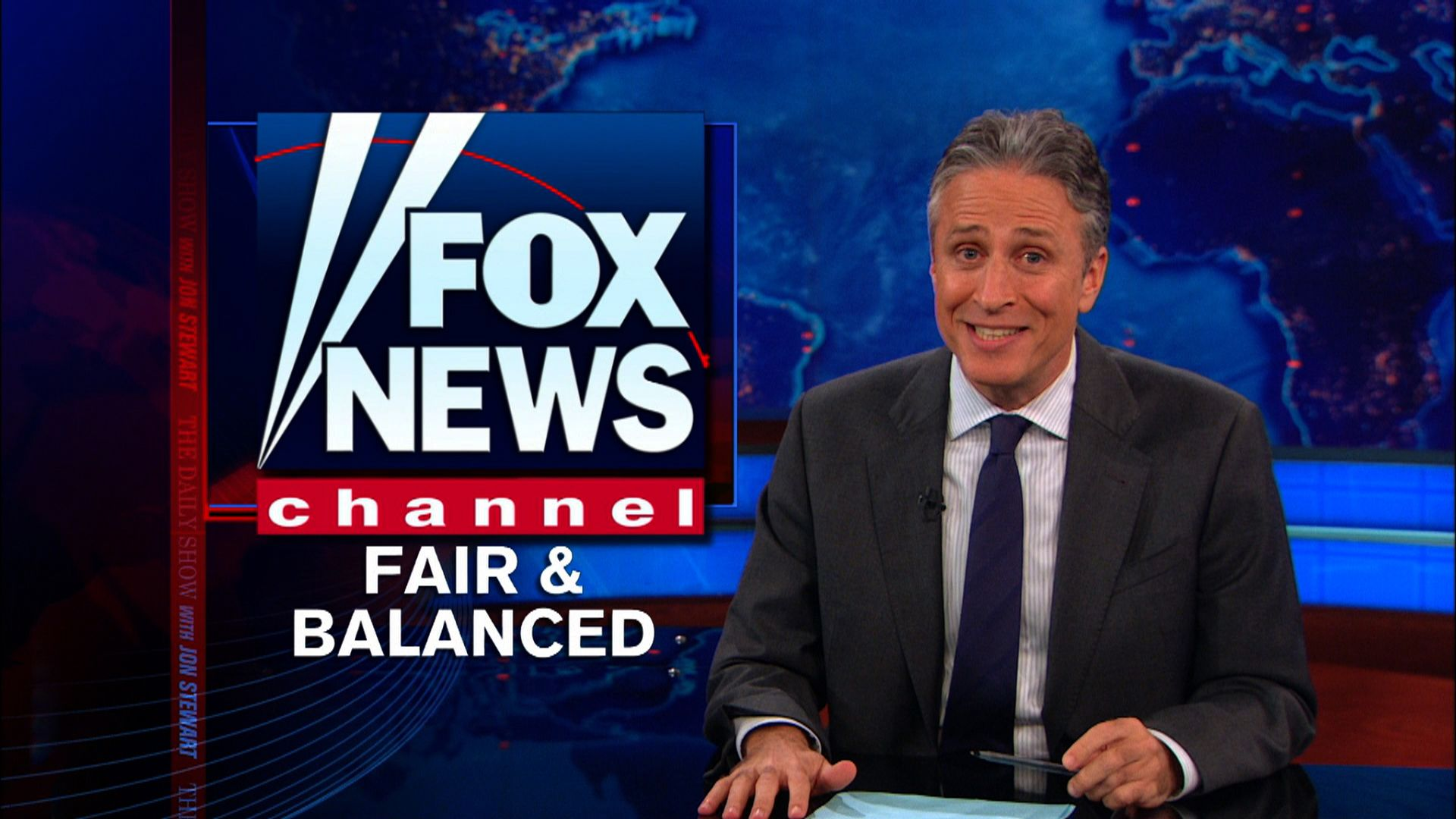 Fox news fair and balanced logo